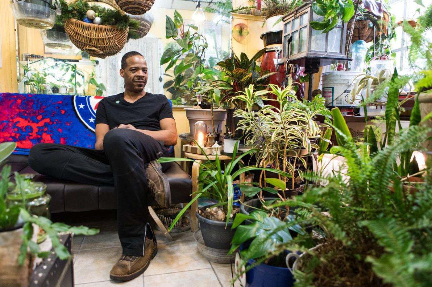 'Philly Plant Guy' has 200 plants in his South Philly rowhome | We the People