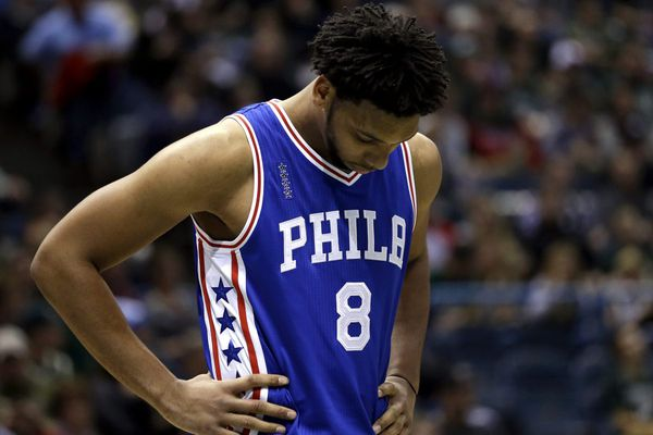 Jahlil Okafor denied garbage-time minutes in Sixers win