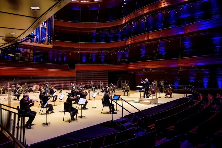 Yannick Nezet-Seguin conducts the Philadelphia Orchestra, recorded at Verizon Hall for the Digital Stage program Florence Price's Symphony No. 1, streaming Nov. 25-29, 2020.