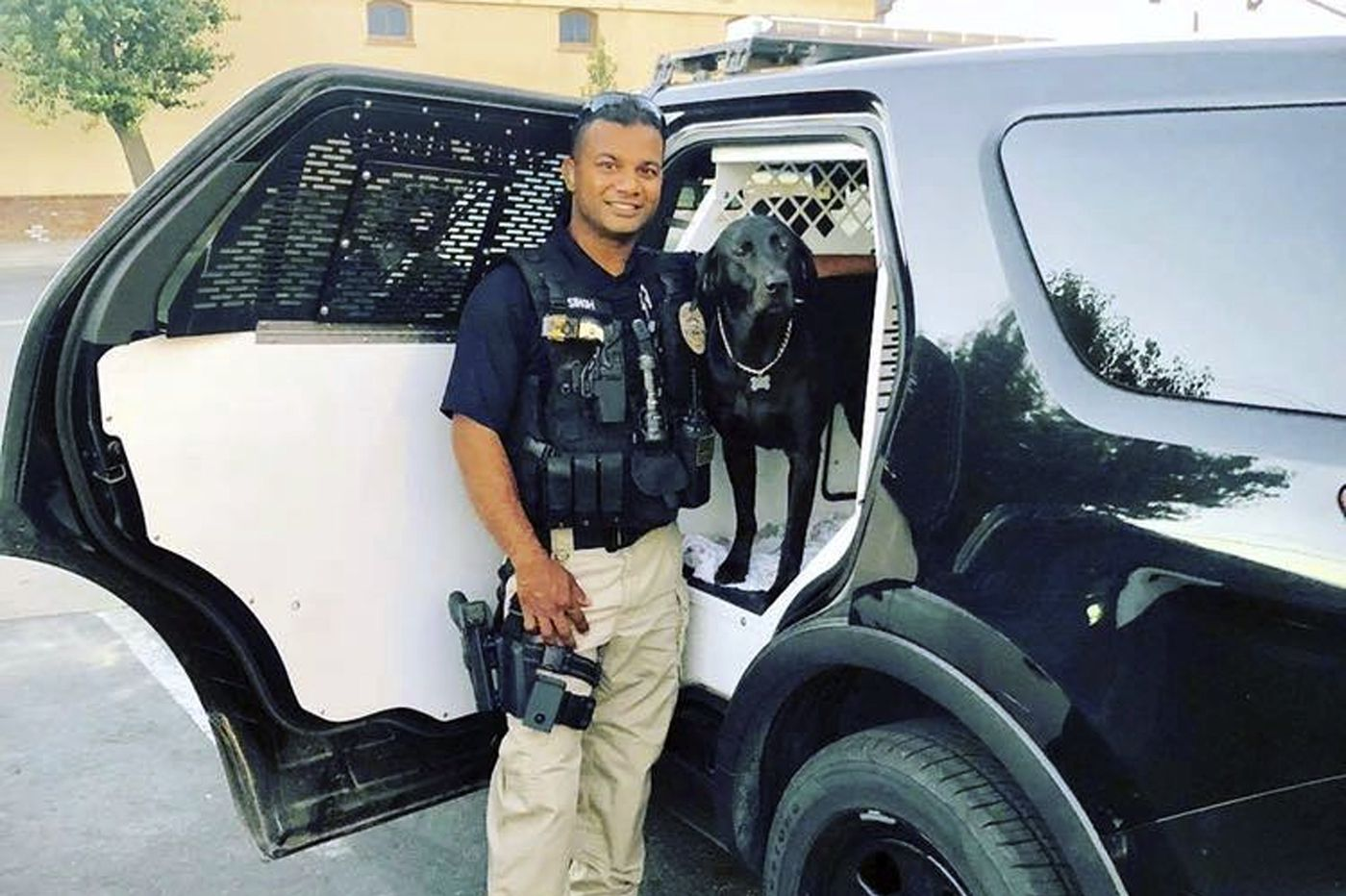 Authorities launch manhunt after killing of police officer