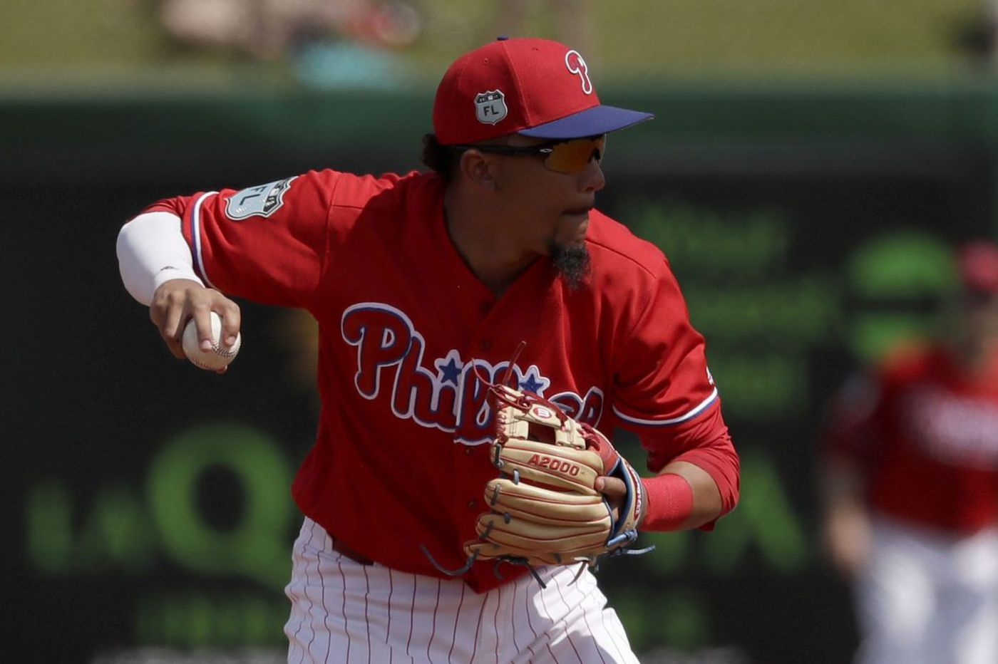 Phillies signal J.P. Crawford's soon arrival with Freddy Galvis move to center field