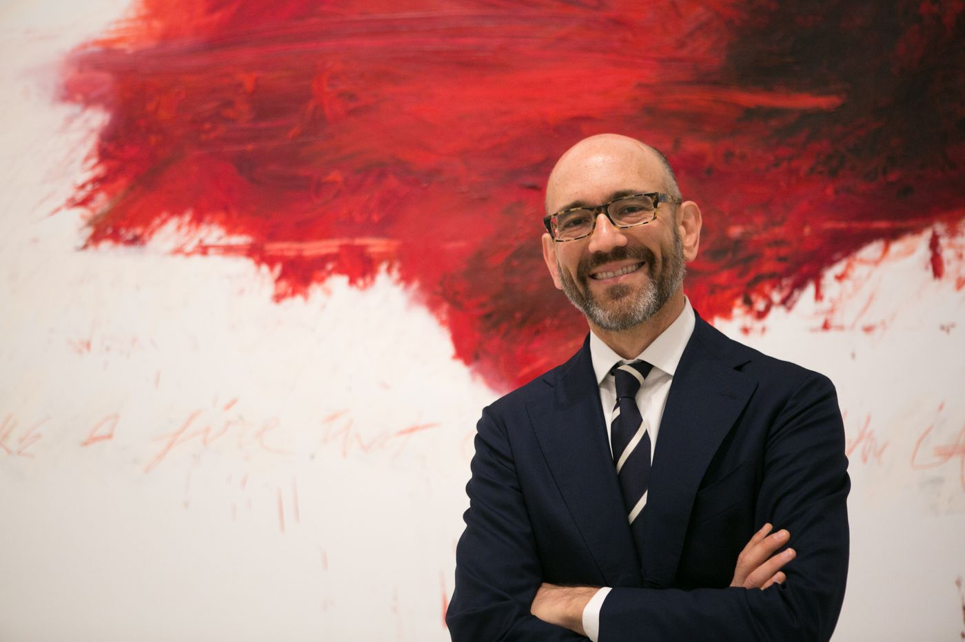 He's shaping the Philadelphia Museum of Art's future — and has a past you wouldn't believe