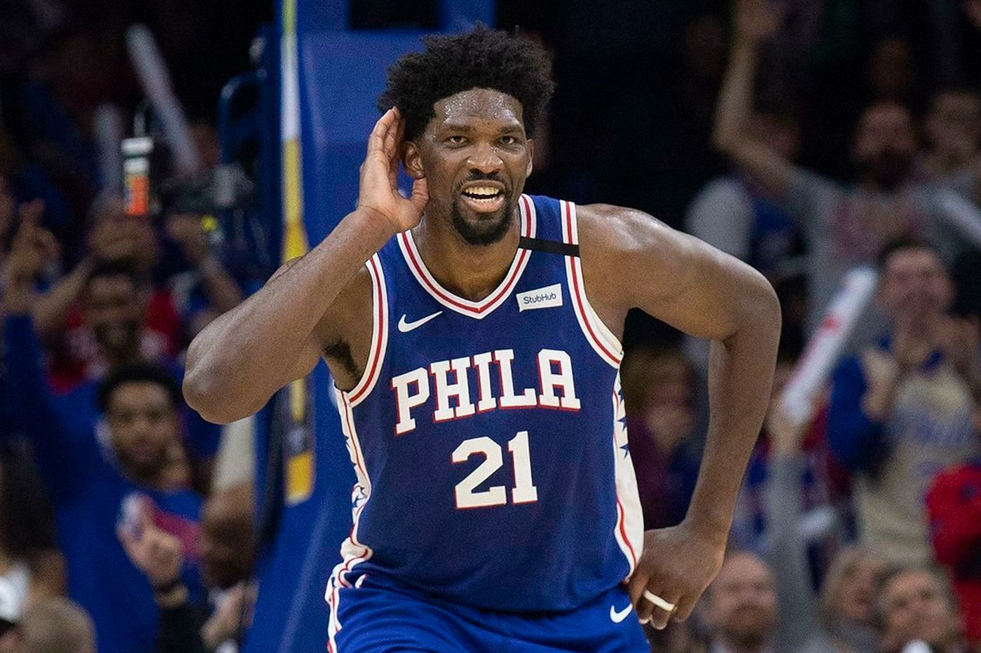 Joel Embiid will be available for Sixers' seeding-game opener against Pacers