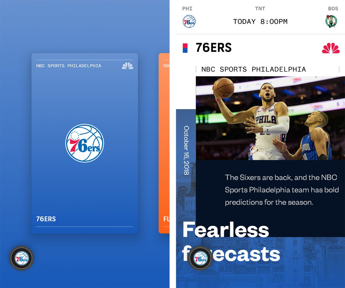 NBC Sports launches new MYTeams app to watch Sixers, Flyers