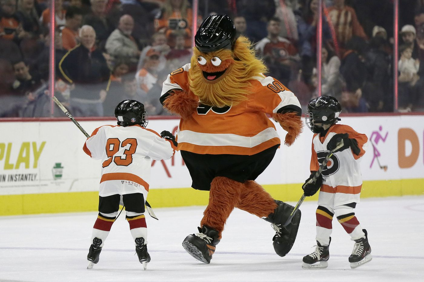 A Gritty-themed 'anti-runners' 5k is happening