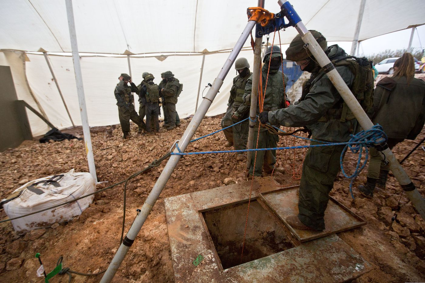 Israel urges UN to condemn Hezbollah over tunnels