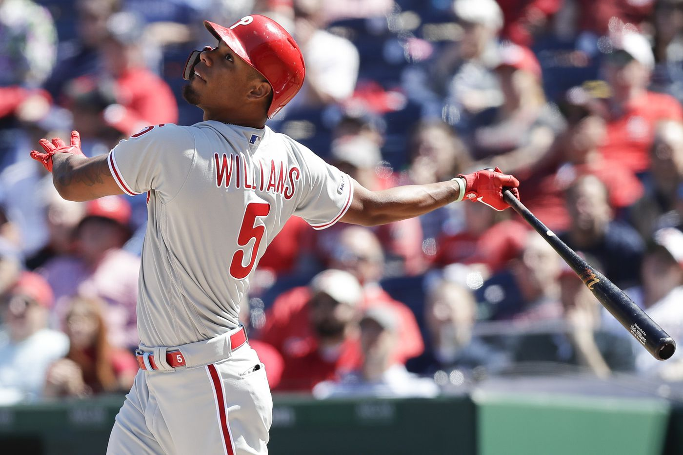 Nick Williams has the same role with the Phillies as last season, but not the same frustrations