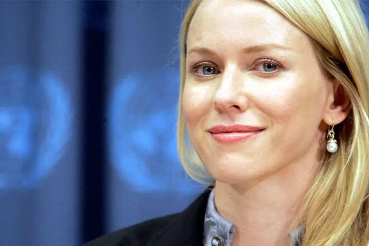 """Actress and activist Naomi Watts stars in """"The Impossible,"""" a film that recounts the 2004 Indian Ocean tsunami. (AP Photo)"""