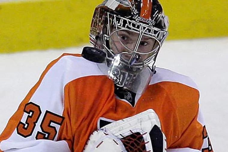 Goaltender Sergei Bobrovsky has been the Flyers' biggest surprise this season. (Yong Kim/Staff file photo)
