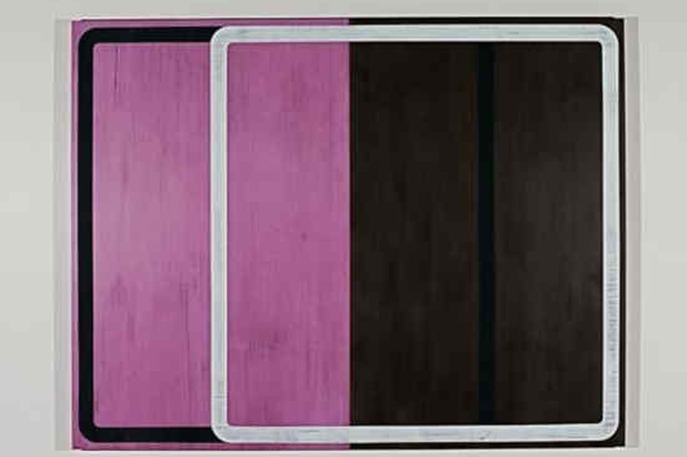 Galleries: Unexpected color combos of Goldberg's abstracts