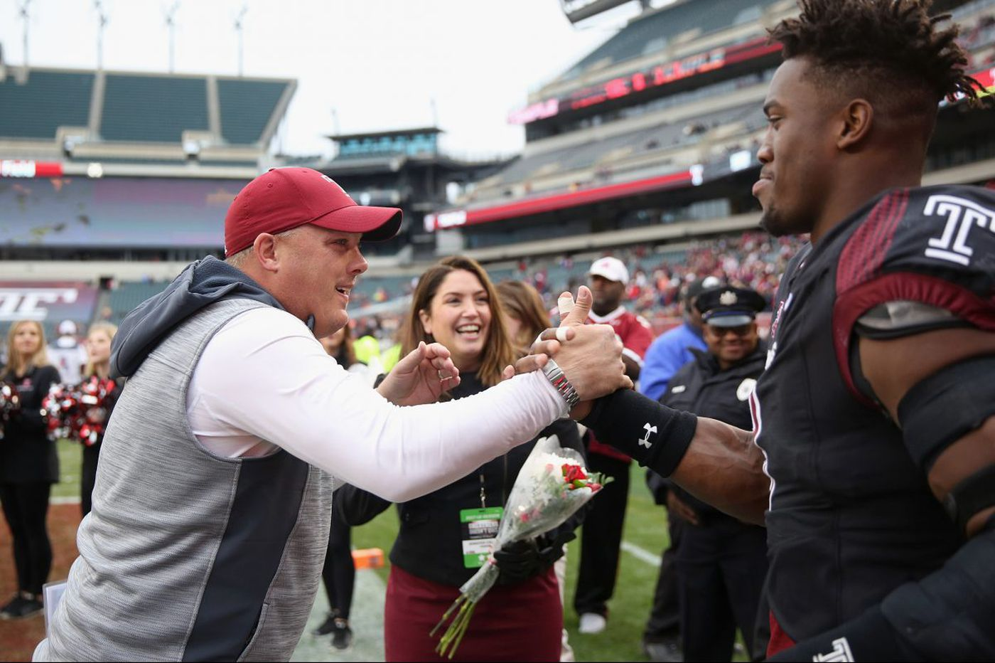 What Temple coach Geoff Collins is saying
