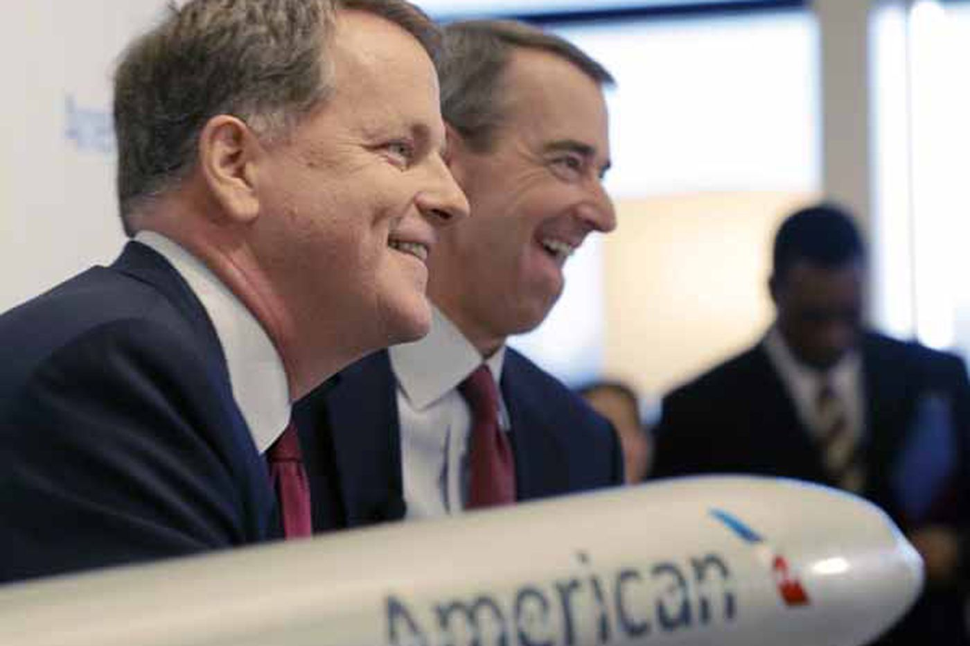 Airline execs reap millions after merger