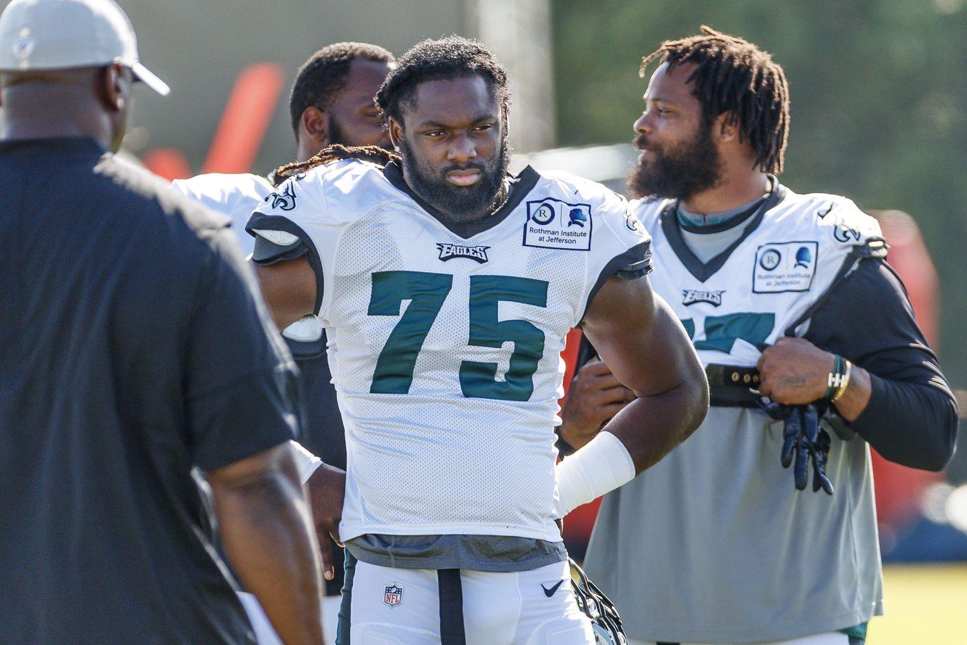 Josh Sweat survives scare, looks to build a future on Eagles' defensive line
