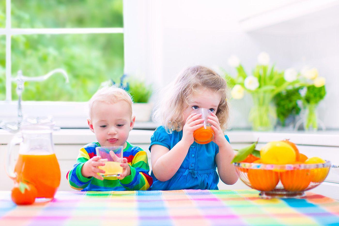 Parents should limit kids' juice consumption, new national guidelines say