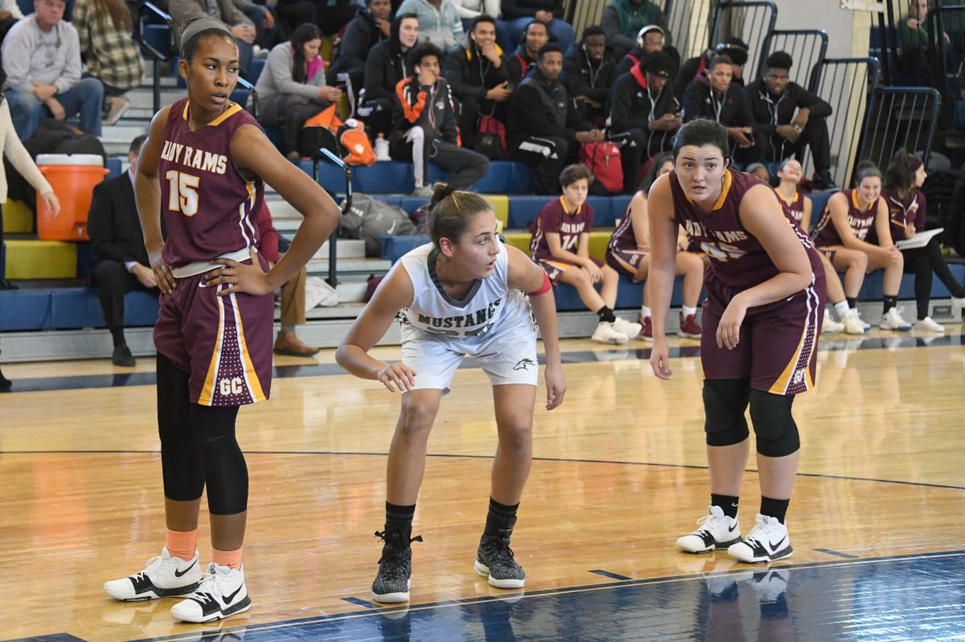 Kylee Watson plays hoops at Mainland for love of the game