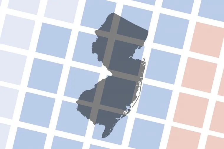 New Jersey Democrats are advancing a proposal that would require mapmakers consider past election results when redrawing the state's legislative districts. That would take Democrats' edge in statewide races to ensure a blue legislative map.