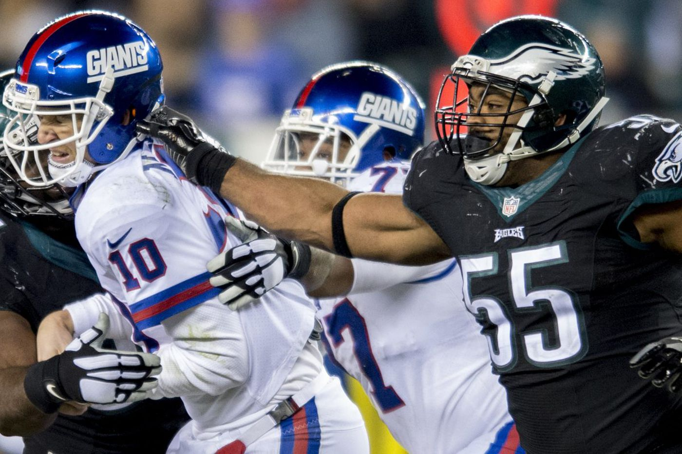 Why the Eagles' defensive line vs. the Giants' offensive is so important on Sunday   Early Birds