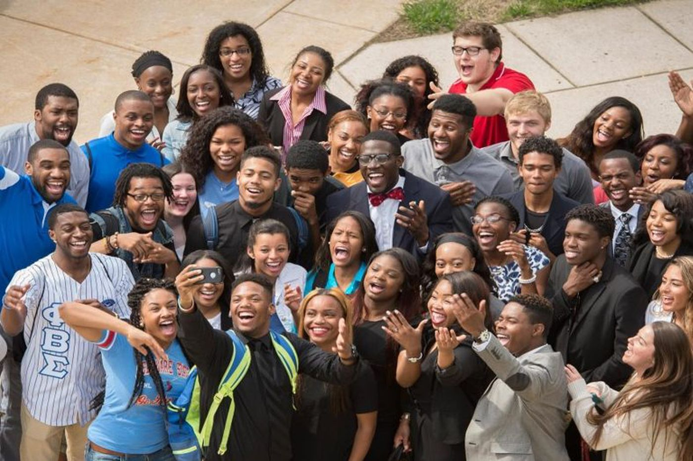 Delaware State, historically African American, bucks the trend for many colleges by attracting more students