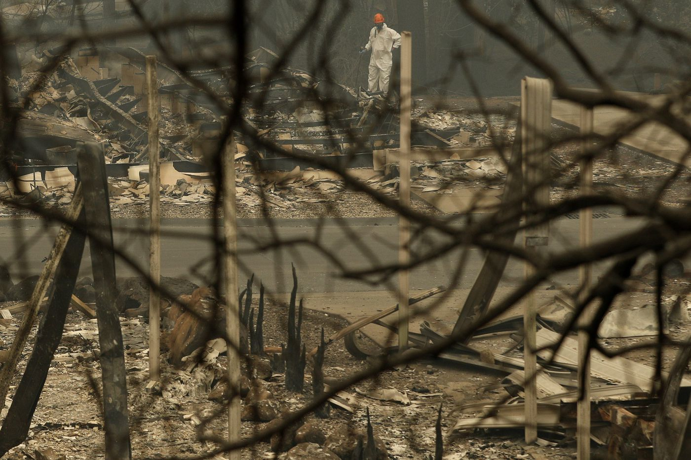 A Northern California wildfire is 1.5 times the size of Philadelphia