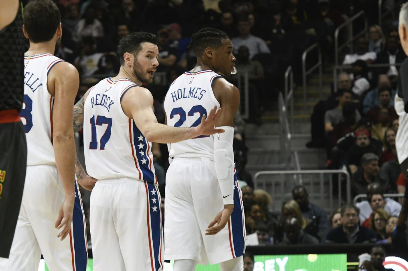 Sixers' JJ Redick thinks lack of playoff experience is an advantage