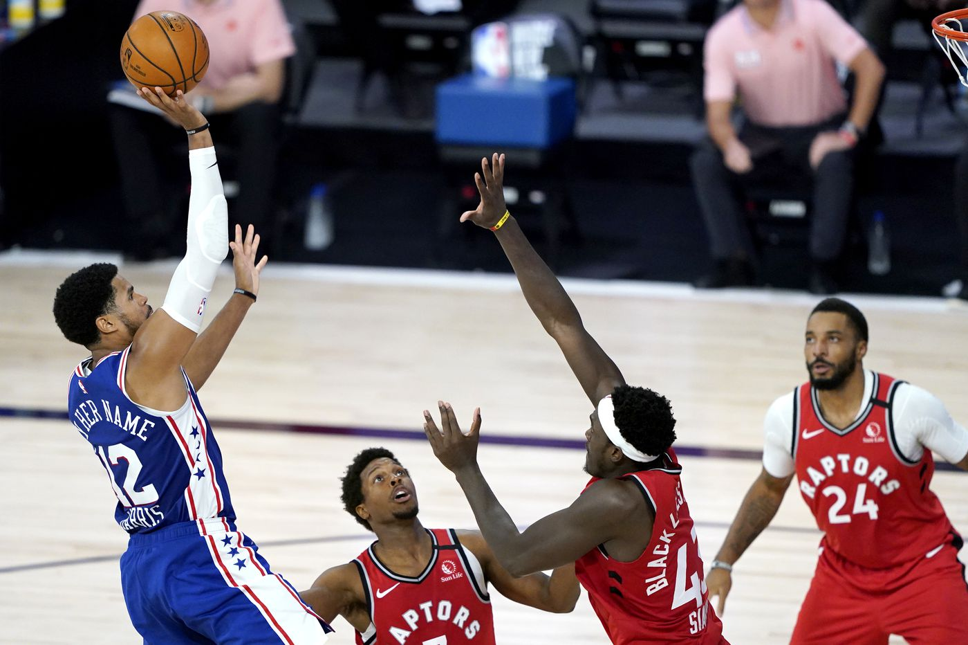 Sixers lose to Raptors in meaningless game, brace for playoff date with Boston Celtics