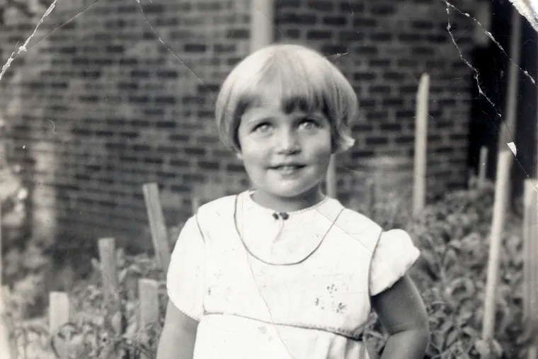 This image provided by the Supreme Court, shows Joan Ruth Bader at two-years-old in 1935, at her home in the Brooklyn borough of New York.