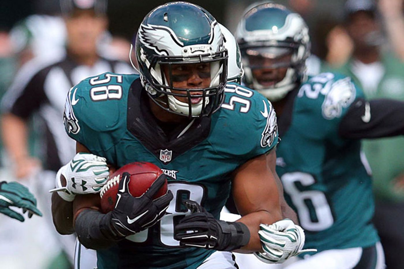 Jordan Hicks earns bigger role with Eagles