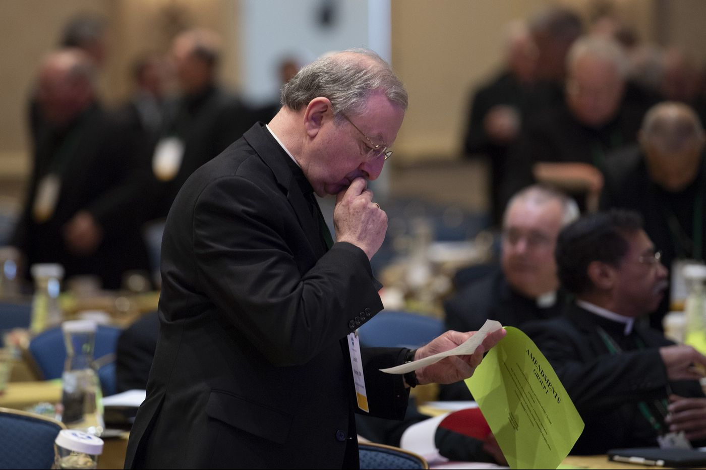 U.S. Catholic bishops leave Baltimore conference without acting on sex abuse reforms
