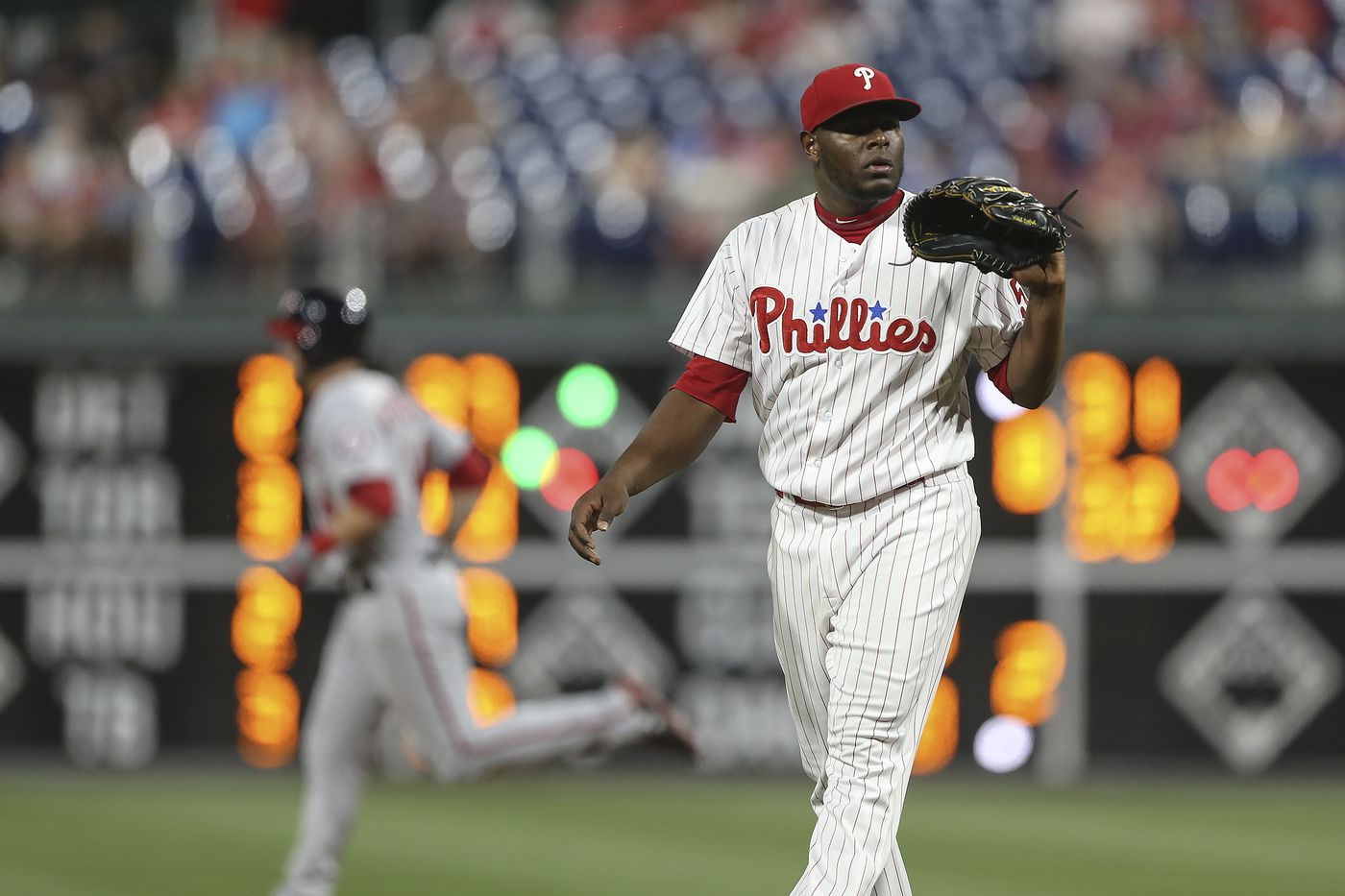 Phillies send Hector Neris back to minors after 'shell-shock' performance against Nationals