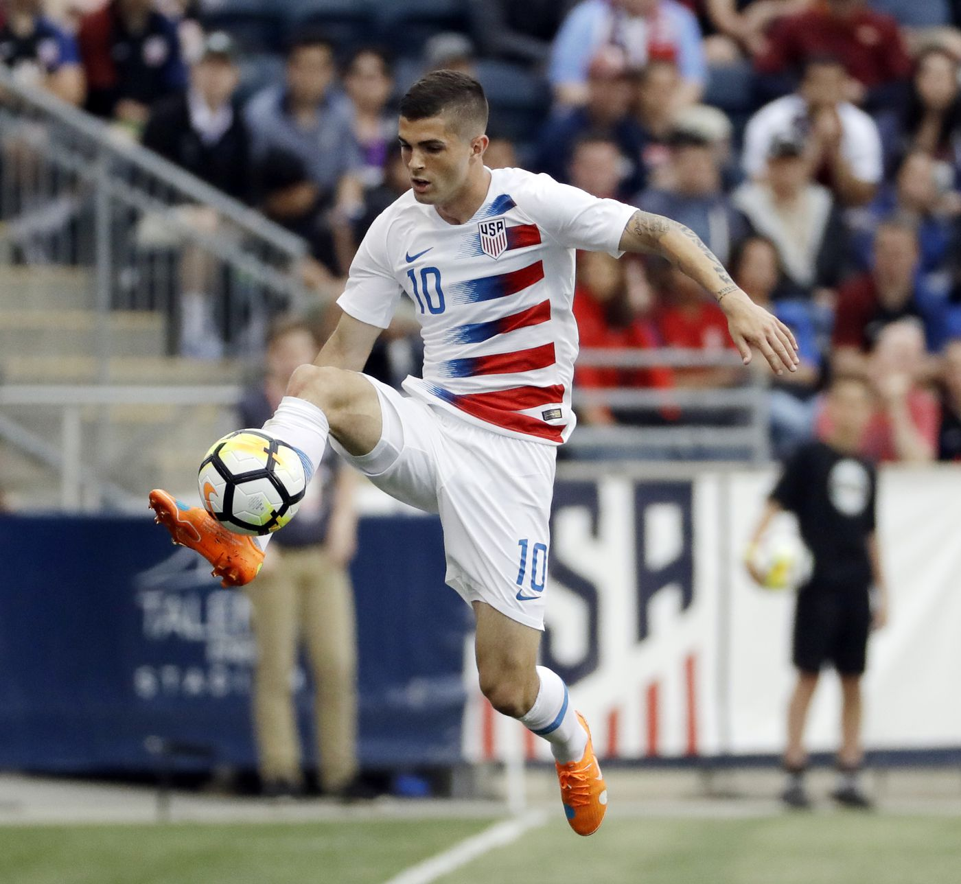 Pulisic scheduled for US soccer return while Bradley dropped