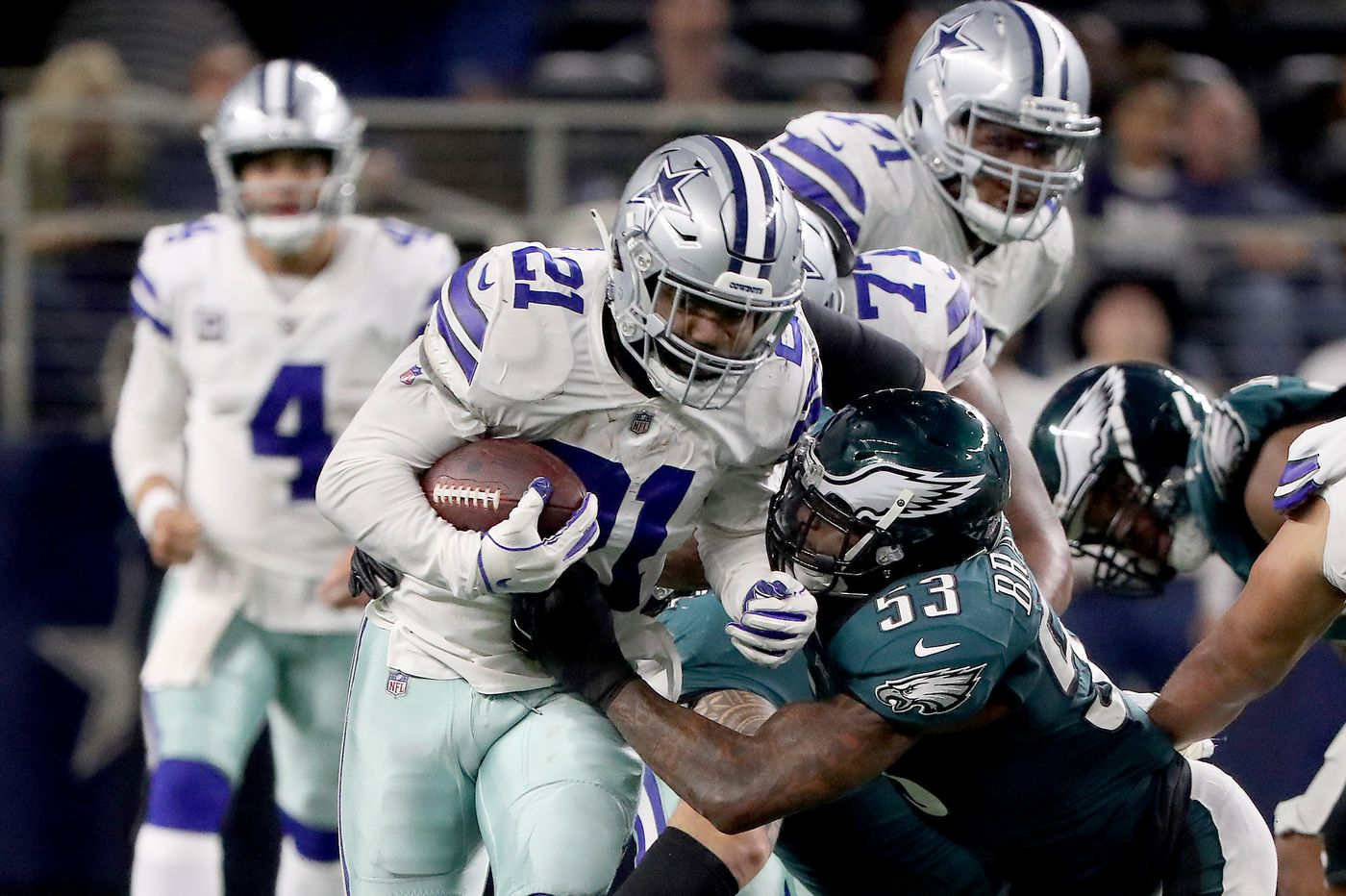 Grading the Eagles: Run game, pass defense earn 'D' grades in loss to Cowboys | Paul Domowitch