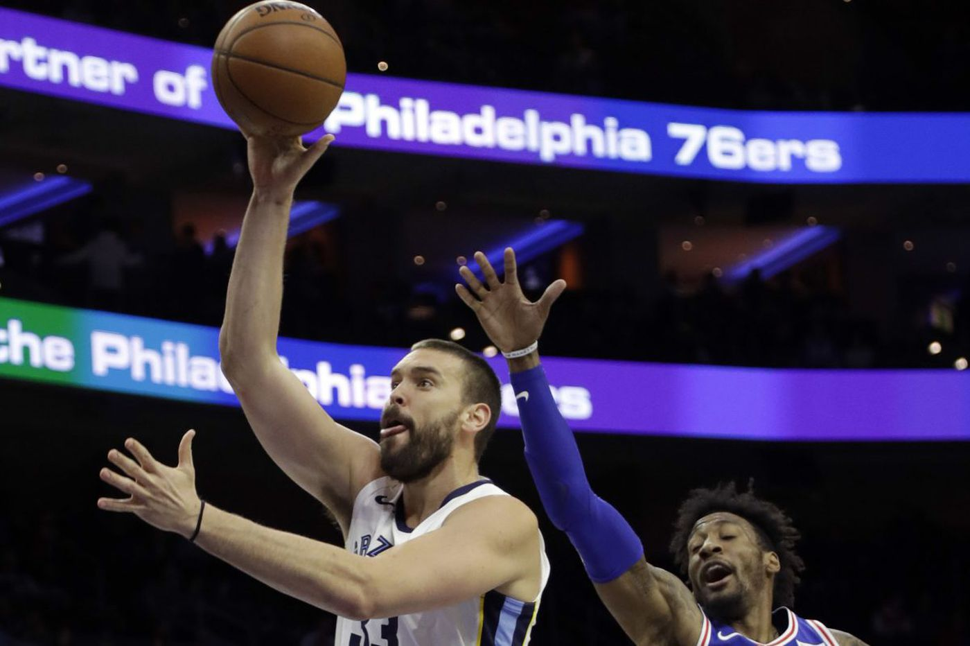 Sixers 119, Grizzlies 105: Memphis, Gasol provide little resistance to the Sixers