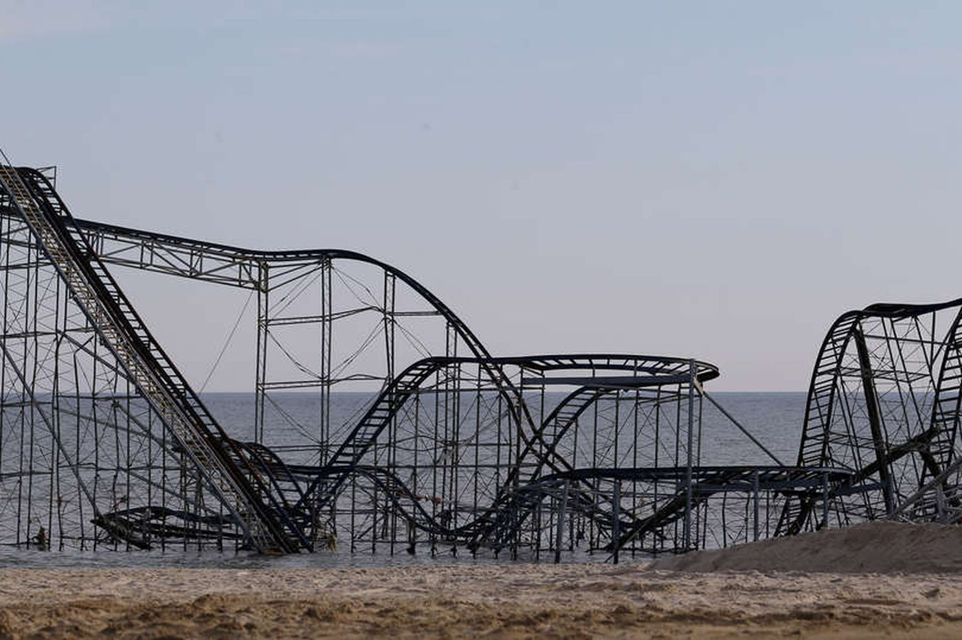 Demolition of 'Sandy' coaster to begin Tuesday
