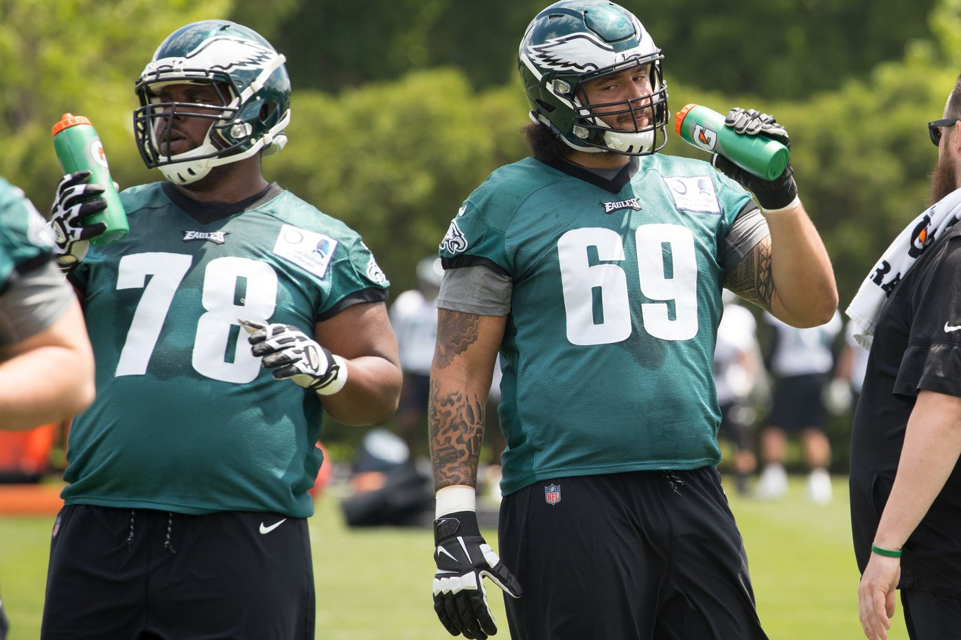 Rookie guard Matt Pryor is hands-on favorite to make the Eagles