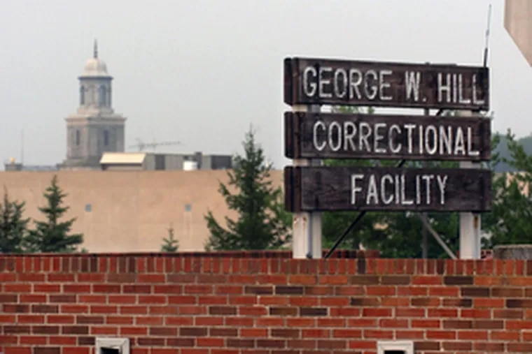 George W. Hill Correctional Facility, Delaware County's jail, will continue to be managed by the GEO Group for the next five years.
