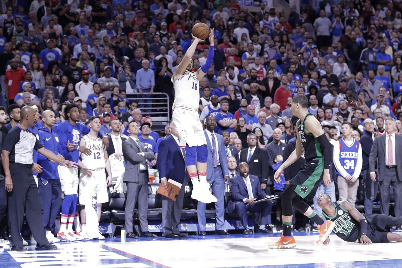 Marco Belinelli's buzzer beater couldn't make up for the Sixers' mistakes