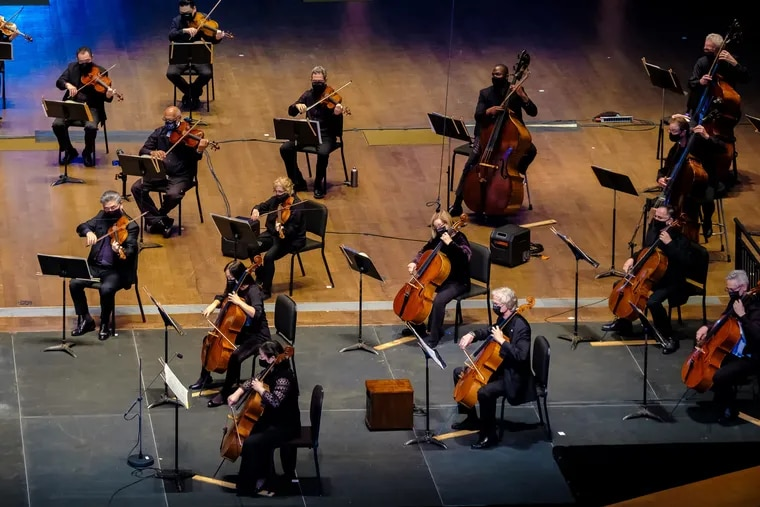 The Philadelphia Orchestra performs a concert for its reimagined fall 2020 season on the Digital Stage, recorded at the Mann Center for the Performing Arts.