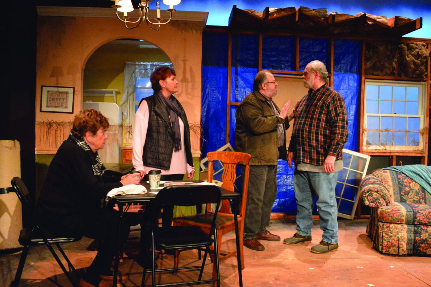'By the Water' at South Camden Theatre Company: Coming back from Sandy, in mind and body