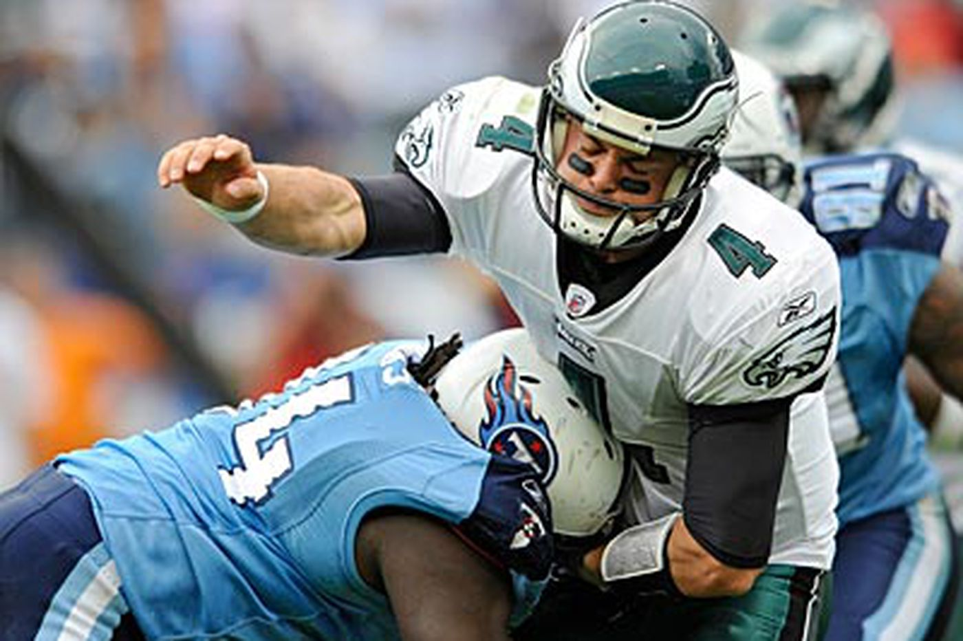 Kolb is prepared to start and do his part for Eagles
