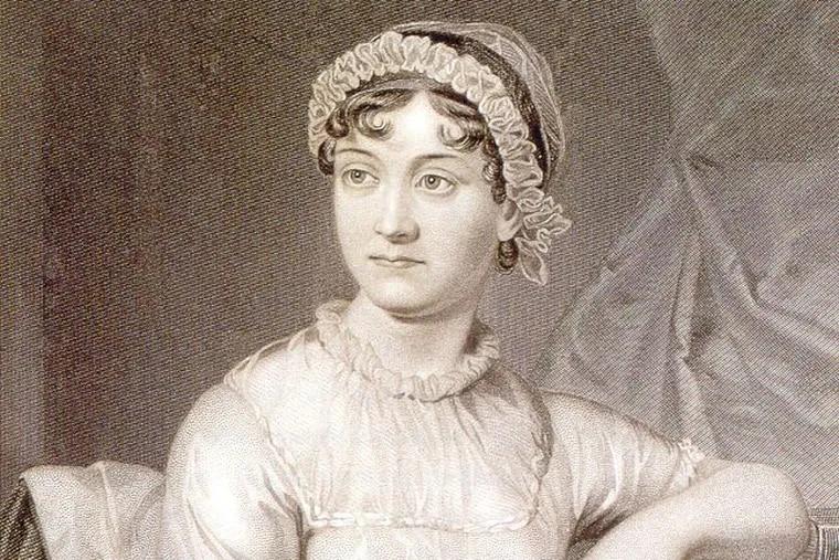 An Engraving of Jane Austen<br/>  .