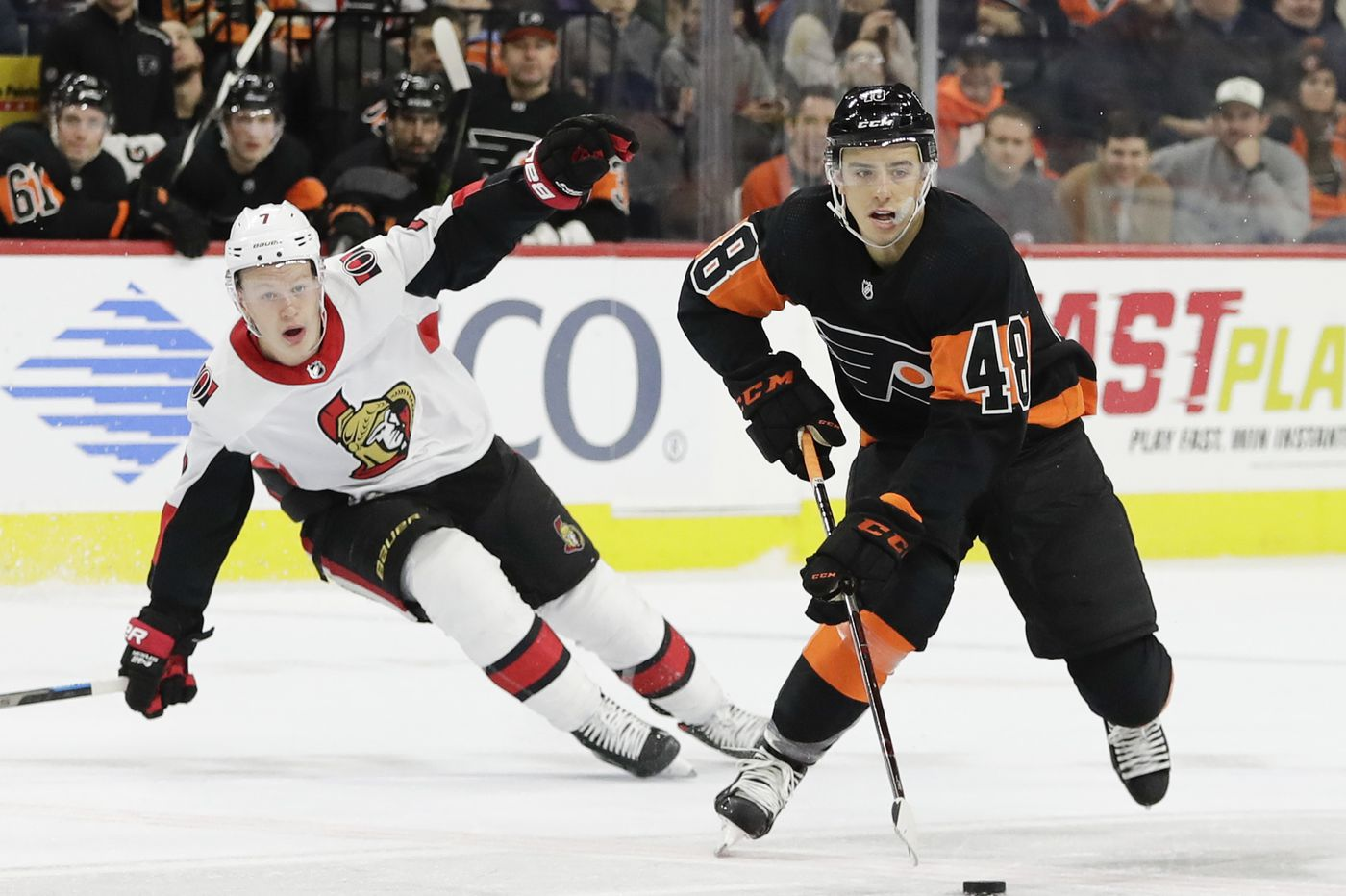 Morgan Frost gets another chance with Flyers; Robert Hagg replaces 'Ghost'