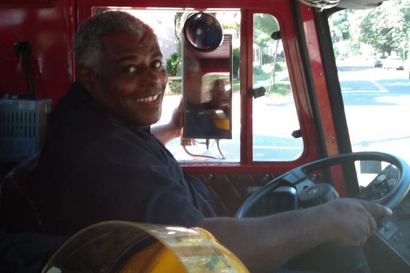 Eric Gore, 48, carried on a family tradition as a Philadelphia firefighter