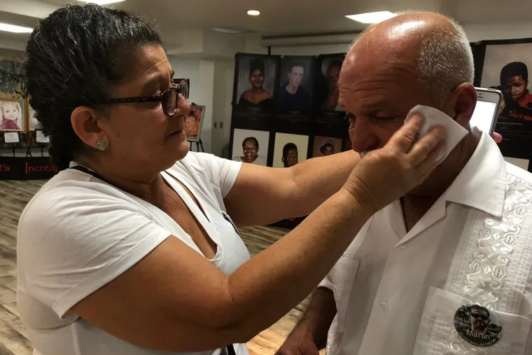 Elsa Alicea and her husband Victor cried this past summer as they talked about the unsolved murder of their 29-year-old son, Luis Alicea, in 2016.