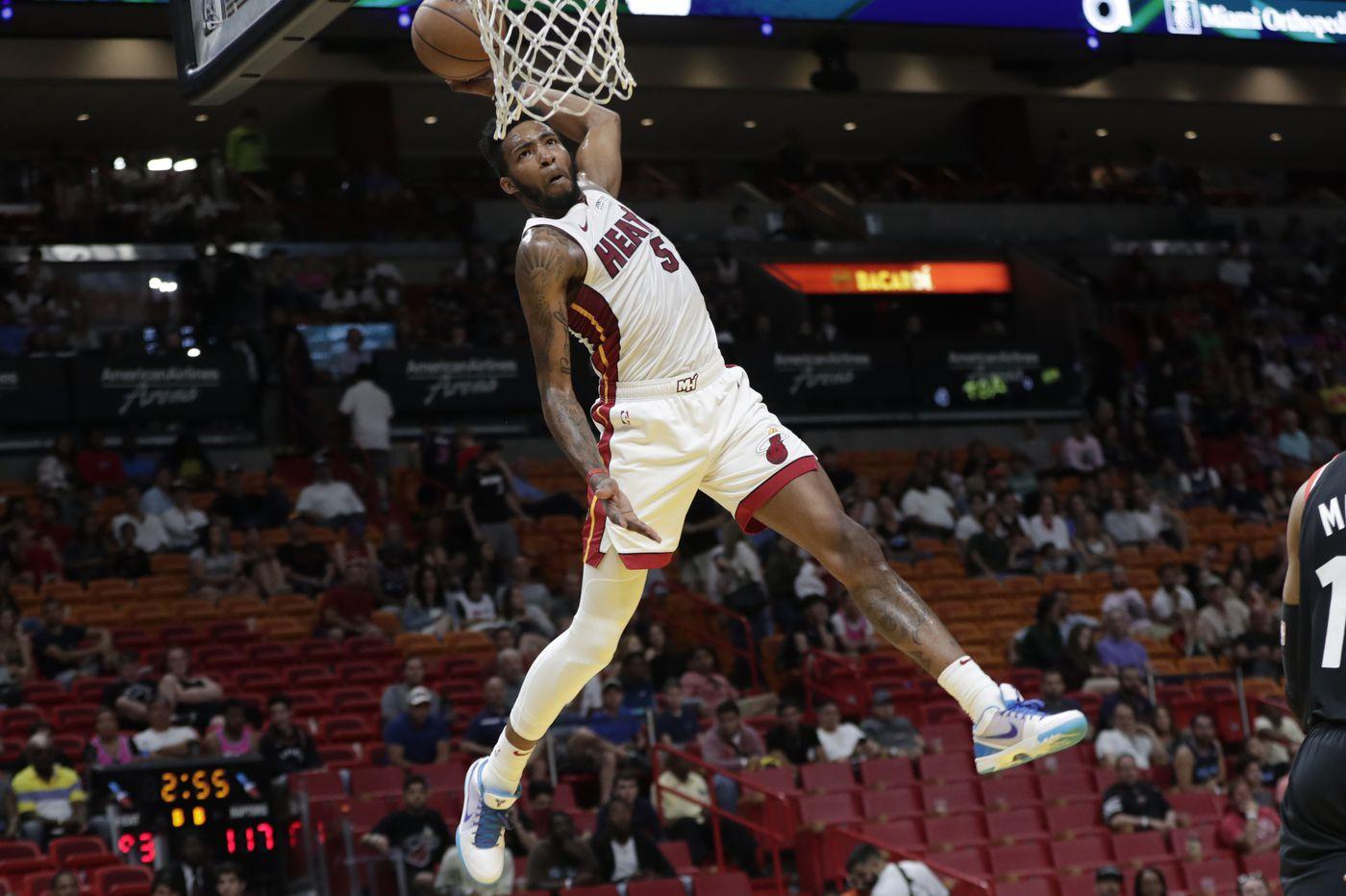 Watch: Former Philly hoops star Derrick Jones Jr. slams in incredible alley-oop dunk