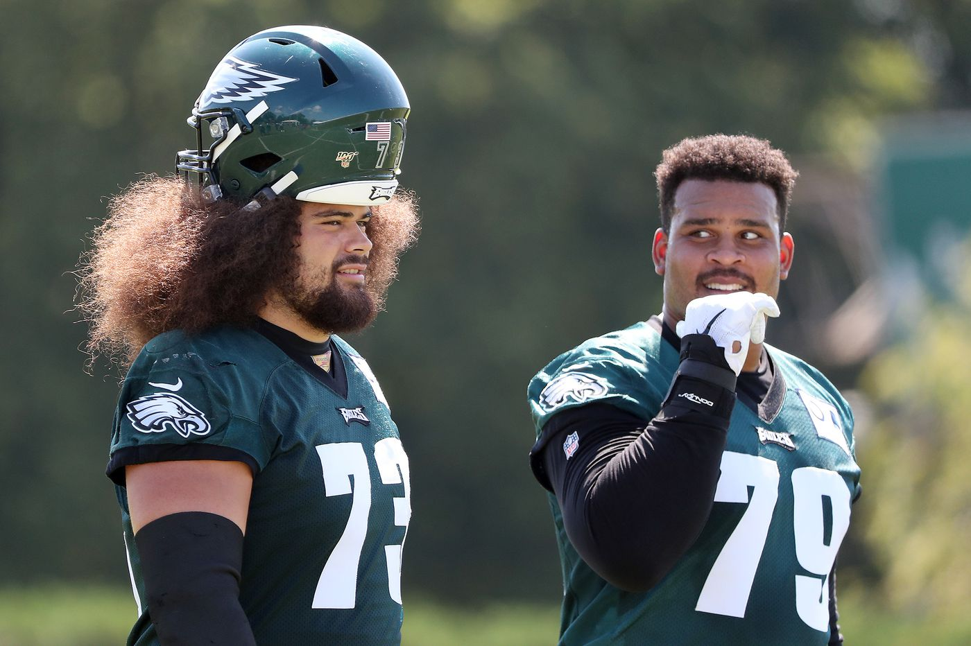 Brandon Brooks hopes to get the OK this week to practice fully with the Eagles