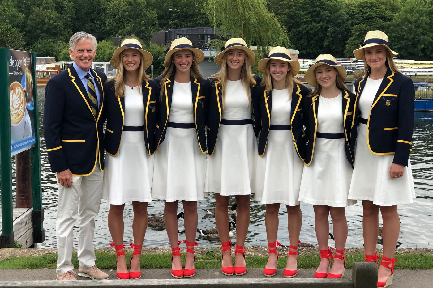 For Merion Mercy boat, a dominant season ends at Henley Women's Regatta