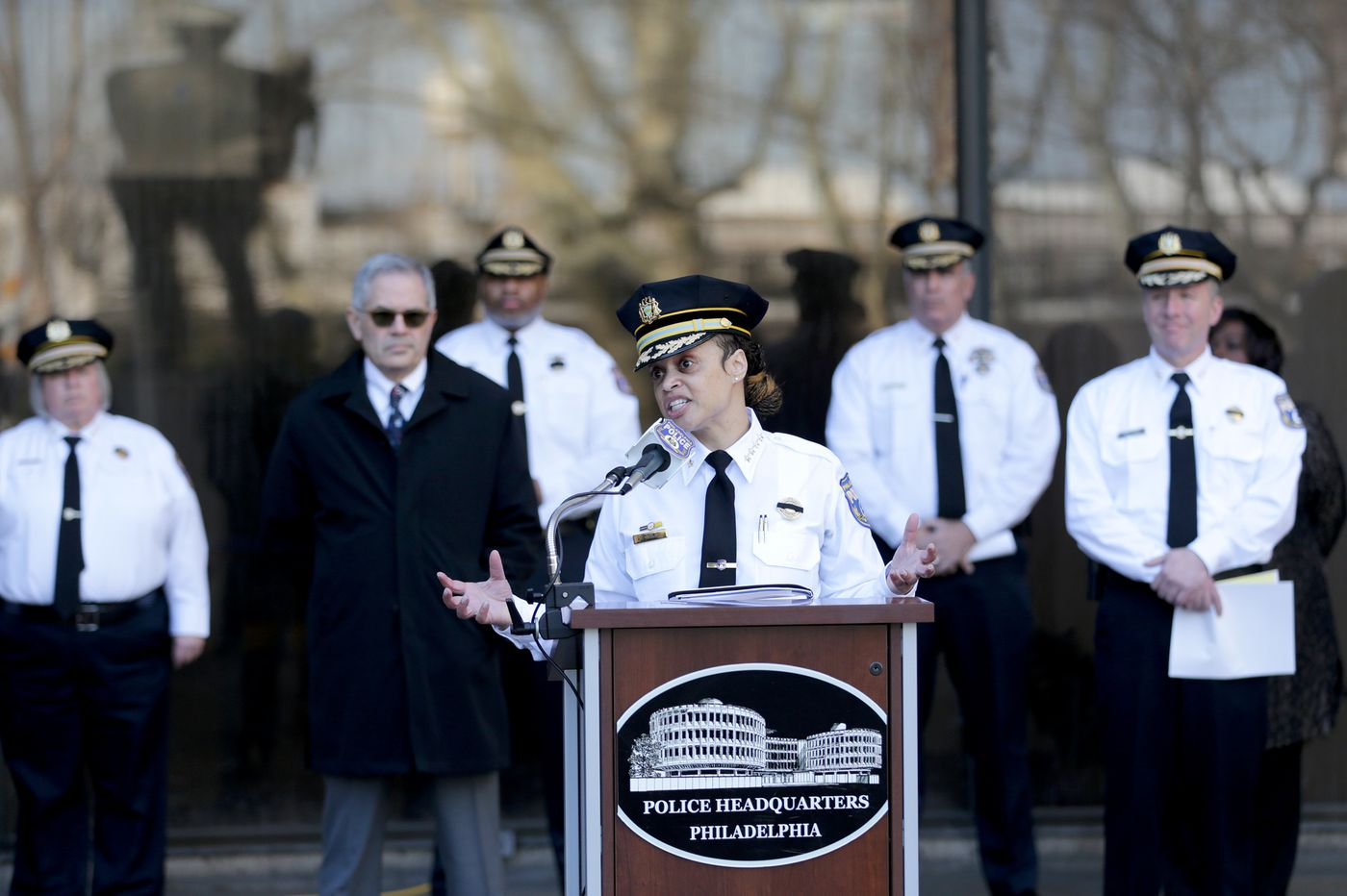 As coronavirus spreads, Philly 'not turning a blind eye to crime,' Police Commissioner Danielle Outlaw says