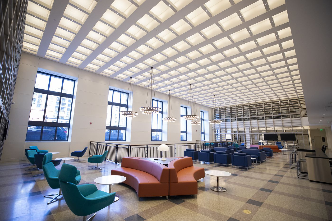 Free Library's new spaces open this weekend after more than a decade of renovations