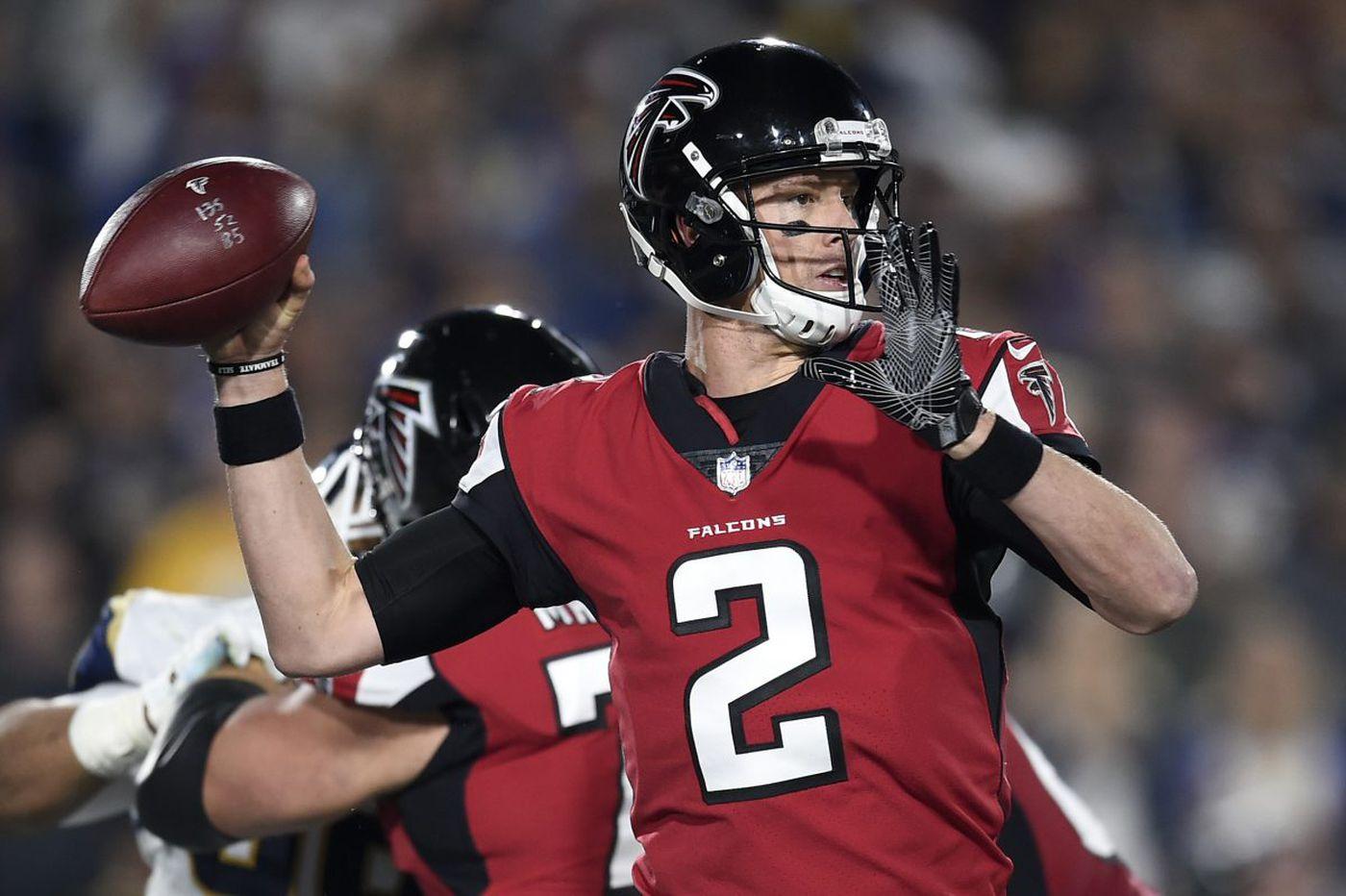 Falcons beat Rams, will play Eagles next Saturday