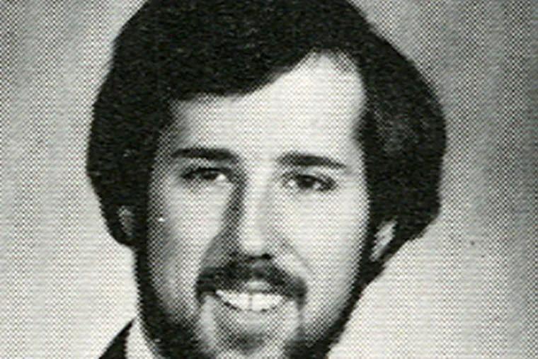 Rick Santorum in his Penn State years. He says his conservatism hurt his grades. PSU profs disagree. (LaVie Board of Directors)